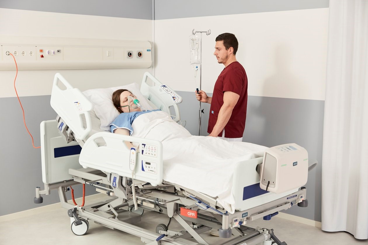 Prévention des escarres - Soins 24 heures sur 24 pour les patients à risque élevé
